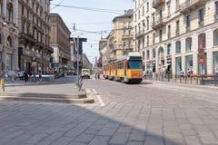 Plaza del Milano Duomo Stock Photography