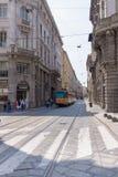 Plaza del Milano Duomo Stock Images