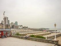 Plaza del Milenio en marzo del Plata Foto de archivo libre de regalías