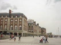 Plaza del Milenio en marzo del Plata Fotografía de archivo