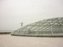 Plaza del Milenio i Mar del Plata Royaltyfri Fotografi