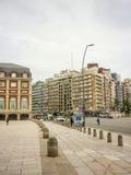 Plaza del Milenio i Mar del Plata Arkivbilder