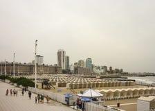 Plaza del Milenio i Mar del Plata Royaltyfri Bild