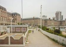Plaza del Milenio in Mar del Plata Stock Images