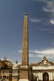 Plaza del obelisco de la gente Imagen de archivo libre de regalías