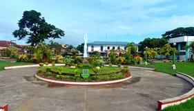 Plaza del parque Fotografía de archivo libre de regalías
