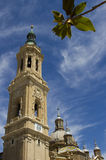 Plaza del Pilar Stock Photo