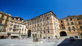 Plaza del Poeta Iglesias σε Σαλαμάνκα, Ισπανία Στοκ φωτογραφία με δικαίωμα ελεύθερης χρήσης