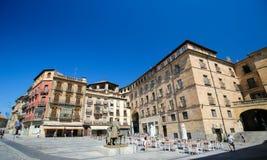 Plaza del Poeta Iglesias σε Σαλαμάνκα, Ισπανία Στοκ φωτογραφίες με δικαίωμα ελεύθερης χρήσης
