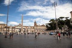 Plaza del popolo Imagen de archivo