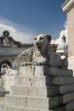 Plaza del popolo Roma Imagen de archivo libre de regalías