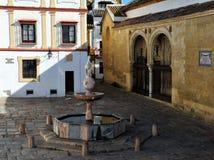 Plaza del Potro (τετραγωνικό του πουλαριού), Κόρδοβα, Ισπανία Στοκ Εικόνες