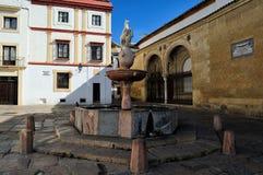 Plaza del Potro (τετραγωνικό του πουλαριού), Κόρδοβα, Ισπανία Στοκ Φωτογραφία
