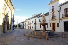 Plaza del Potro in Cordoba Royalty Free Stock Photography