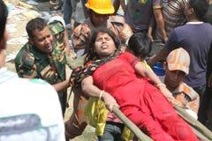 Plaza del Rana delle conseguenze nel Bangladesh (foto dell'archivio) fotografie stock