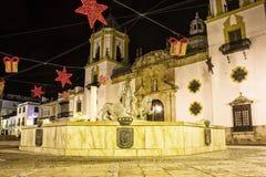 Plaza del Socorro, Ronda, Espanha imagens de stock royalty free