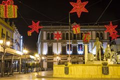 Plaza del Socorro, Ronda, Espanha foto de stock