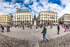 Plaza Del Sol Στοκ φωτογραφίες με δικαίωμα ελεύθερης χρήσης