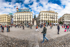 Plaza Del Sol Royalty Free Stock Photos