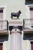 Plaza del Torico, Teruel, Αραγονία Στοκ φωτογραφία με δικαίωμα ελεύθερης χρήσης