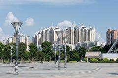 Plaza della città Fotografia Stock