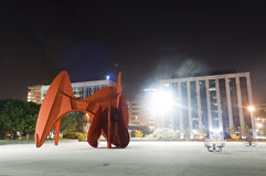 Plaza di Calder fotografia stock libera da diritti