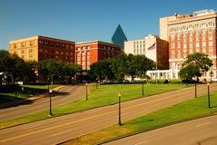 Plaza di Dealy, Dallas immagini stock libere da diritti
