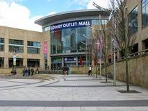Plaza di Lowry, banchine di Salford, Manchester Fotografie Stock Libere da Diritti