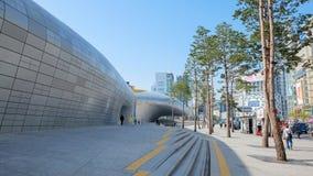 Plaza di progettazione di Dongdaemun Fotografia Stock