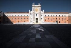 Plaza do Madri velho spain imagens de stock royalty free