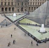 Plaza do museu da grelha Fotos de Stock