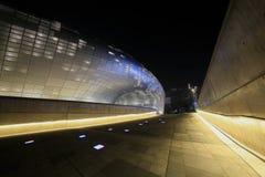 Plaza do projeto de Dongdaemun em Seoul, Coreia do Sul imagens de stock royalty free
