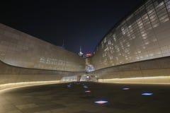 Plaza do projeto de Dongdaemun em Seoul, Coreia do Sul imagens de stock