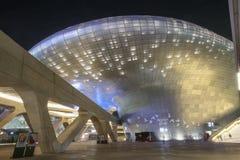 Plaza do projeto de Dongdaemun em Seoul, Coreia do Sul imagem de stock royalty free