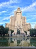 Spain Plaza royalty free stock photo