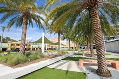 Plaza dos cavaleiros na universidade de Florida central Foto de Stock Royalty Free