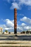 Plaza dos cinco séculos - San Juan, Porto Rico imagens de stock