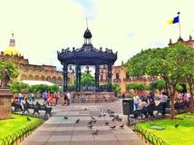 Plaza Royalty Free Stock Image
