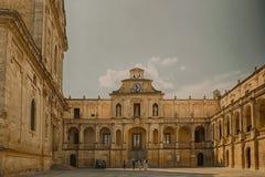 Plaza Duomo σε Lecce Στοκ Εικόνες