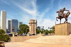 Plaza ecuestre del congreso de los indios Imagen de archivo libre de regalías