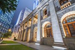 Plaza en Hong Kong imagen de archivo libre de regalías