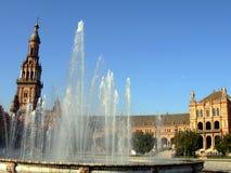 Plaza España Fotos de archivo libres de regalías