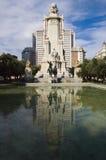 Plaza España Madrid quadrata Fotografia Stock