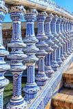 Plaza Espana à Séville, Espagne Images libres de droits