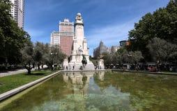 Plaza Espana Arkivfoto