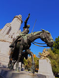 Plaza Espana in Madrid Royalty Free Stock Photography