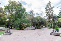 Plaza Espana Mendoza Αργεντινή Στοκ φωτογραφίες με δικαίωμα ελεύθερης χρήσης