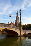 Plaza Espana in Sevilla, Spain Royalty Free Stock Photo