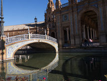 Plaza Espana in Seville Andalucia Spain Royalty Free Stock Images