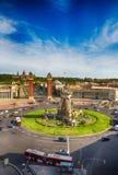 Plaza Espania Βαρκελώνη, Ισπανία Στοκ φωτογραφίες με δικαίωμα ελεύθερης χρήσης